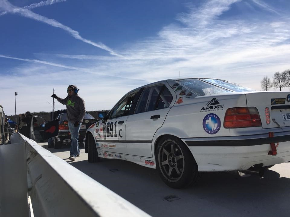 ChampCar Endurance Series using Apex Pro Track Coach